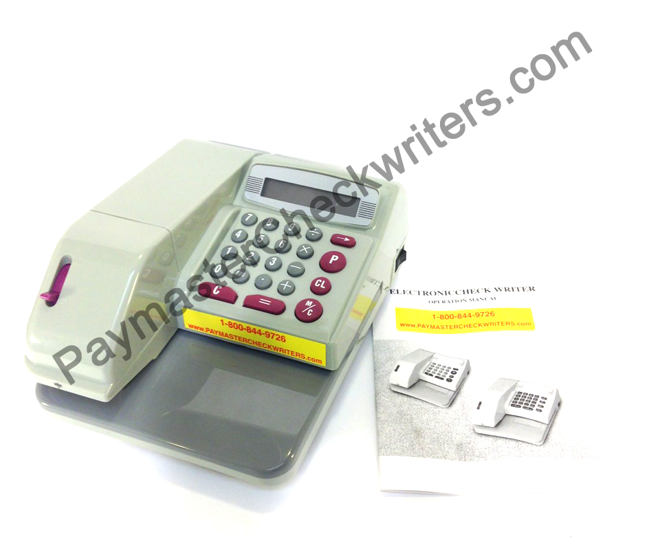 History of paymaster check writers