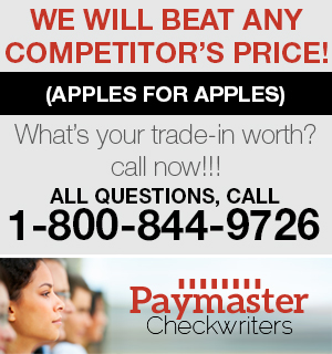 Paymaster Checkwriters